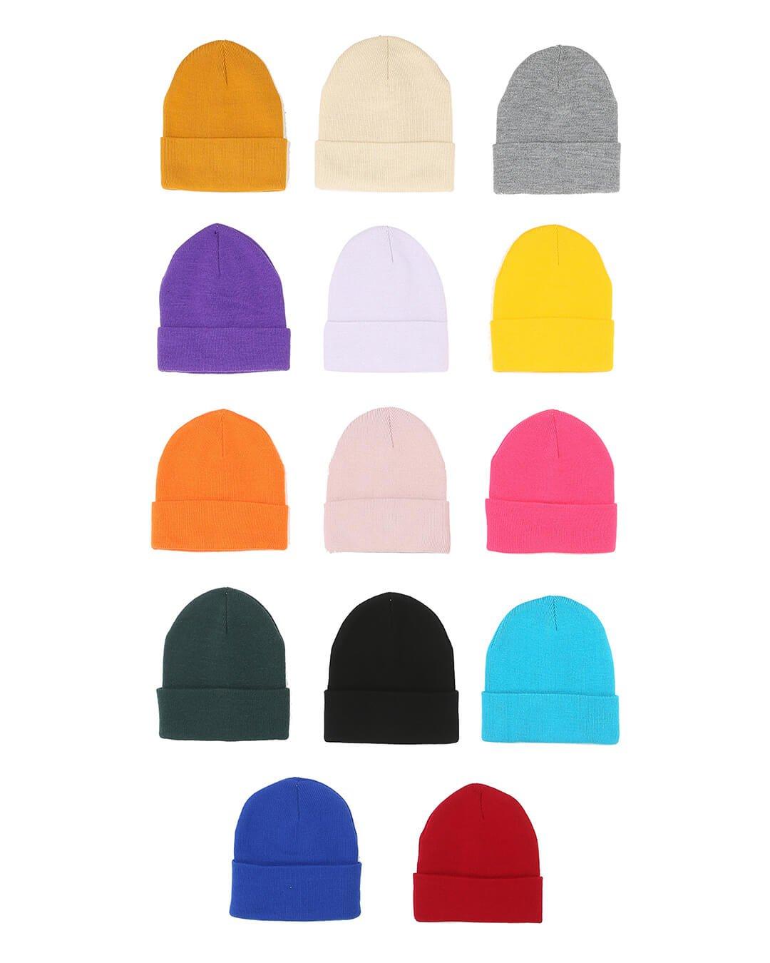 CMFW-19-02 - Düz Katlamalı Bere - CMF Şapka