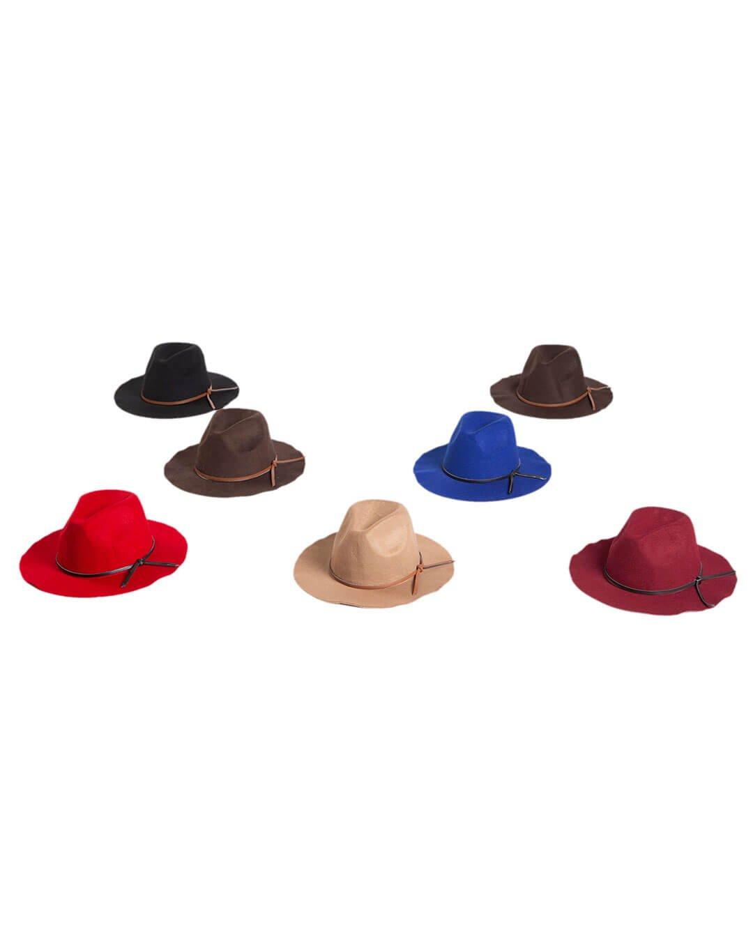 XRSW-16-11 - Keçe Fötr Şapka - CMF Tekstil